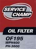 Pictures of Oil Filters Ph3600