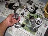Photos of Replacing Oil Filter Gasket