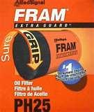 Fram Oil Filter Guide Pictures