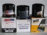 Oil Filter Cross Reference Guide Images