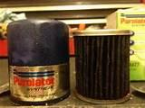Pictures of Synthetic Oil Filter