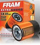 Fram Oil Filter Application Images