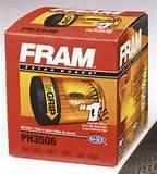 Fram Oil Filter Application Photos