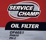 Pictures of Oil Filter Pz42